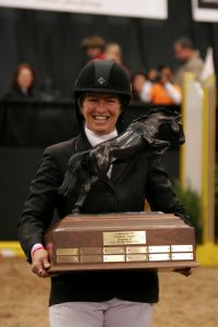 Beezie Madden with Judgement ISF Trophy