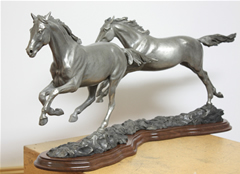 Horse sculptures : Bronze Horse Statues : Horse Art by Mary Sand