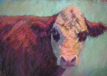 Beautiful pastel painting by Susan Williamson