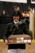 Beezie Madden with Judgement ISF Perpetual Trophy