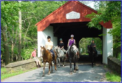 Cabin Run Covered Bridge: Bucks County